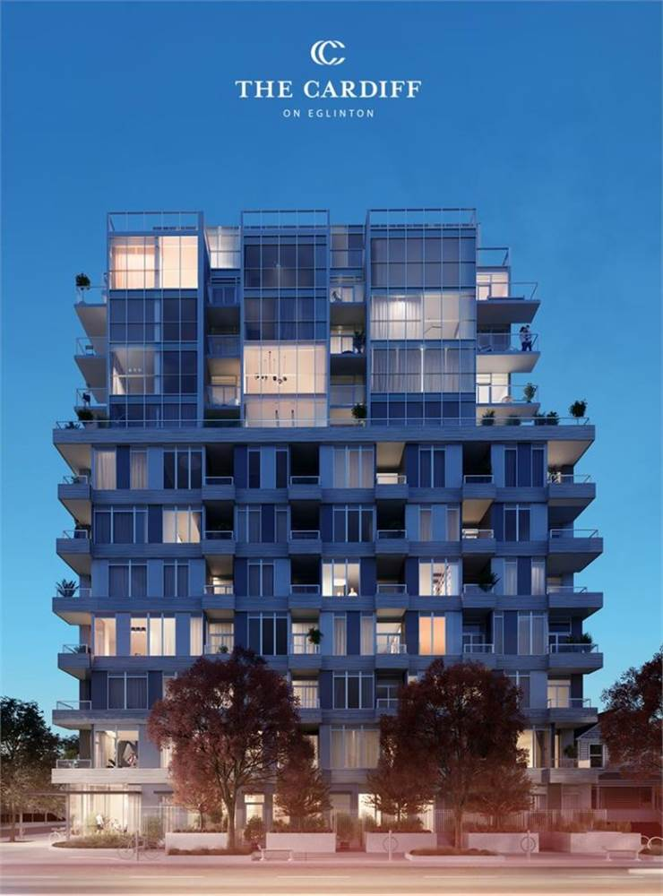 Bayview/Eglinton汇集名校地铁轻轨的The Cardiff Condos and Towns公寓及镇屋 photo 1